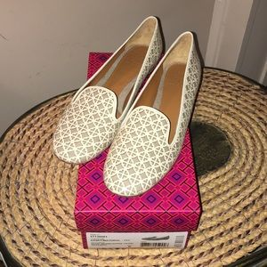 Tory Burch Maura Smoking Slipper Shoe